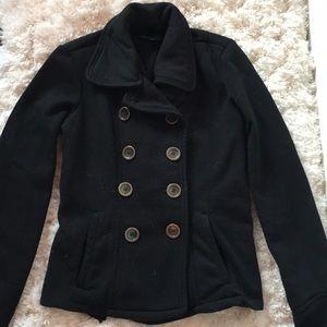 Wet Seal Black Pea Coat